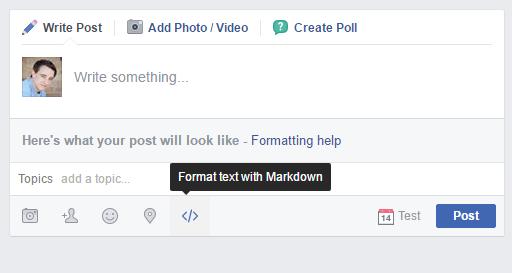 Facebook Formázás 01
