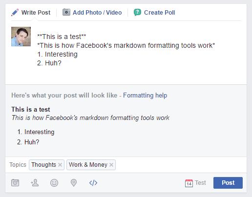 Facebook Formázás 03